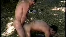 Outdoor rimming and anal